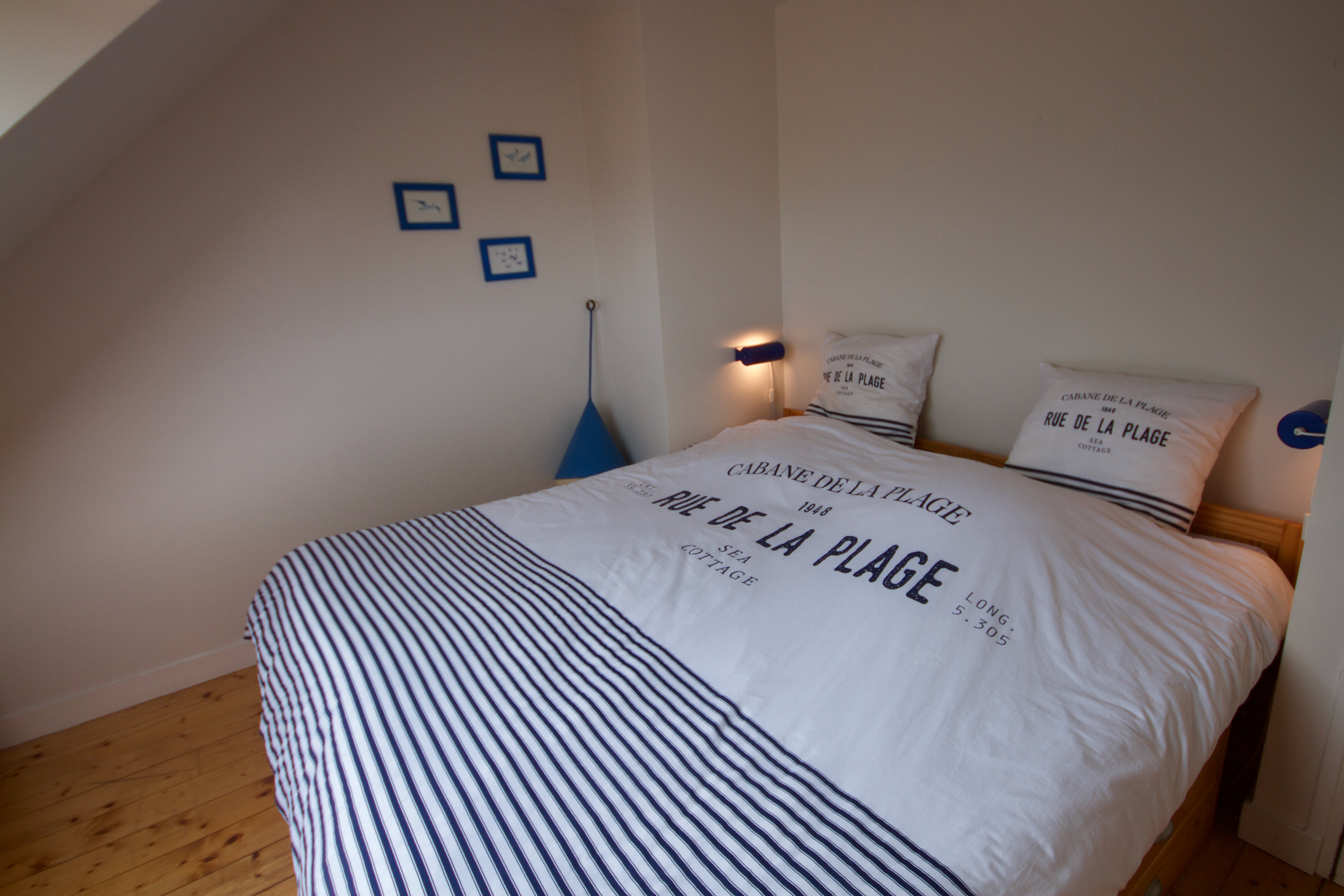 Chambre doube ou 2 lits jumeaux à l'étage