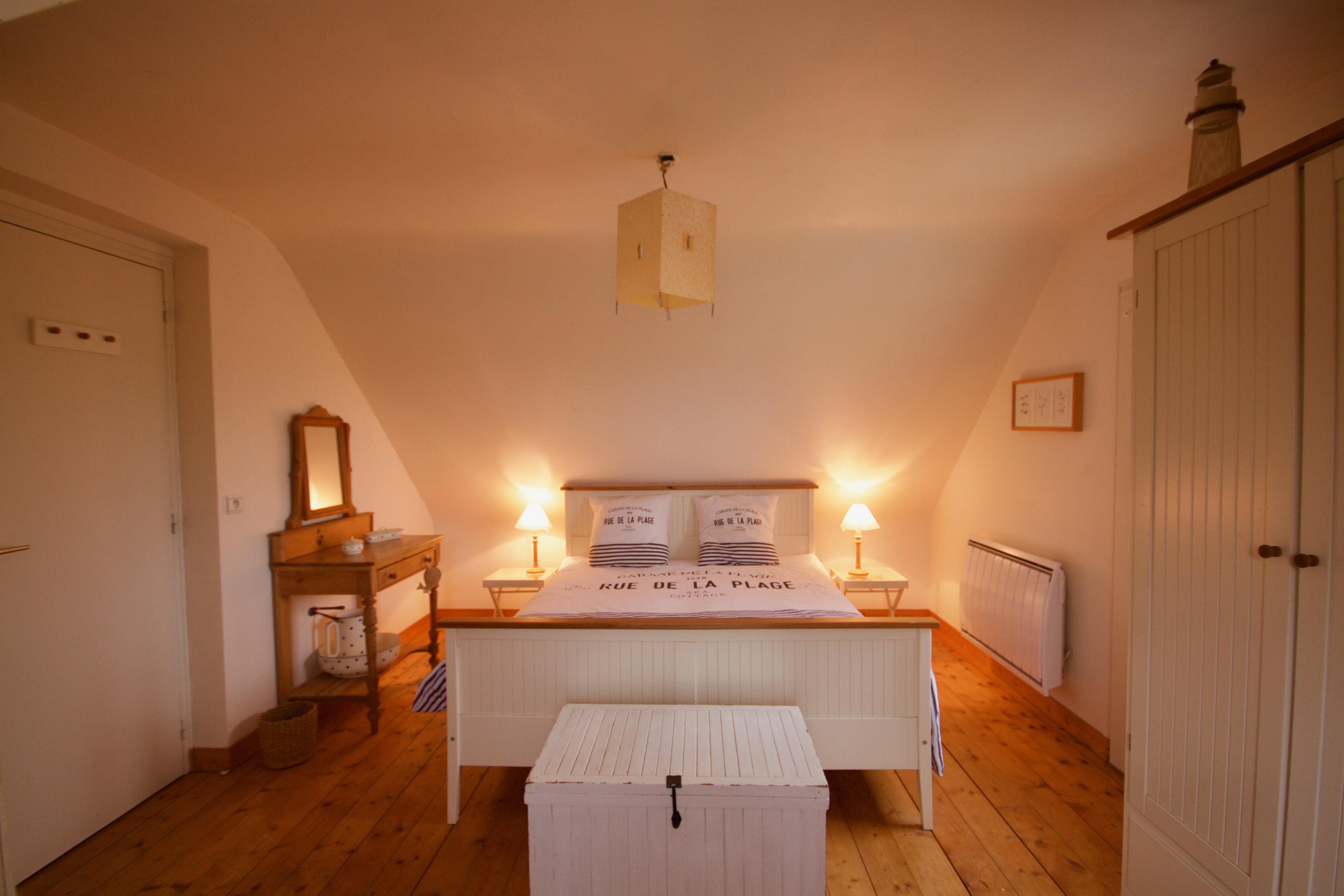 Chambre principale à l'étage
